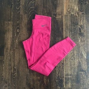 Red Nike Legend Tights